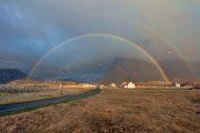 Norwegen, Regenbogen
