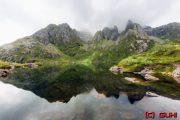 Norwegen - Bergsee