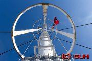 Schiff Mast, Norwegen