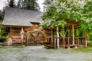 Wassermühle, Rastoke, Kroatien