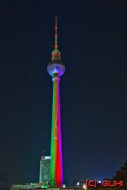Fernsehturm, Festival of Lights, Berlin