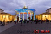 Brandenburger Tor, Festival of Lights, Berlin