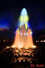 Springbrunnen, Berliner Dom, Festival of Lights, Berlin
