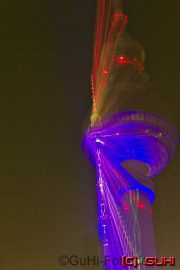 Zoomeffekt, Fernsehturm, Festival of Lights, Berlin
