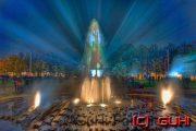 Springbrunnen, Berliner Dom, Festival of Lights, Berlin