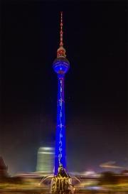 Fernsehturm, Festival of Lights, Berlin