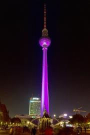 Fernsehturm, Berliner Dom, Festival of Lights, Berlin