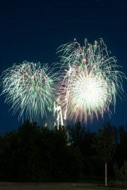 Feuerwerk, Gärten der Welt, Berlin
