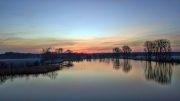 DJI_0027 Neuholland - Stausee - Sonnenaufgang