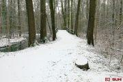 Spreewald im Schnee - Leipe