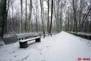 Spreewald im Winter Leipe