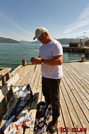 GuHi beim Angeln in Norwegen