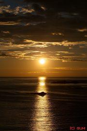 Sonnenuntergang Norwegen - Vesteralen