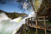 Norwegen, Wasserfall