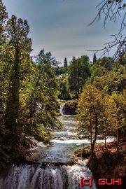 Wasserfall, Rastoke, Kroatien